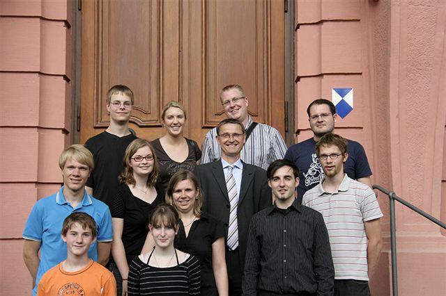 JU-Mitglieder mit Dr. Axel Wilke