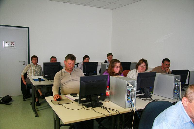 Blick in den Seminarraum