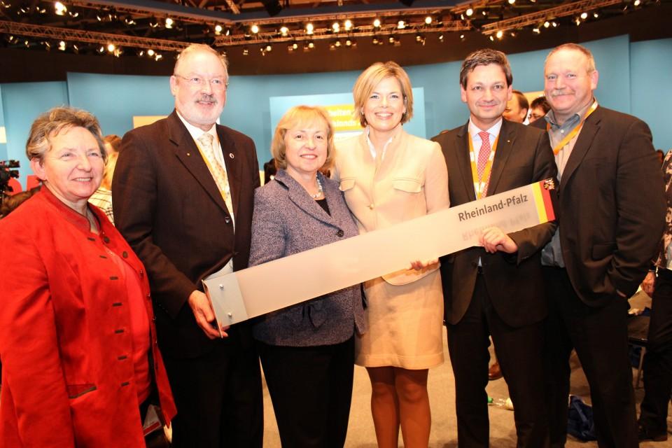 Christine Hinderberger, Manfred Gräf, Prof. Dr. Maria Böhmer, Julia Klöckner, Christian Baldauf, Johannes Zehfuß