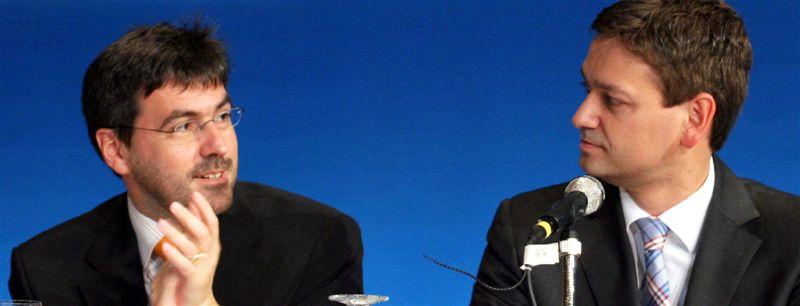 Führungsduo der CDU RLP: Rosenbauer und Baldauf
